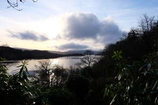 View down the loch from the self catering accommodation